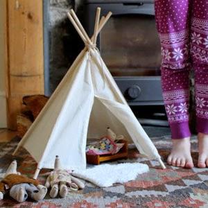 Buy Handmade | Christmas Gift Guide For Children - Cream Tipi