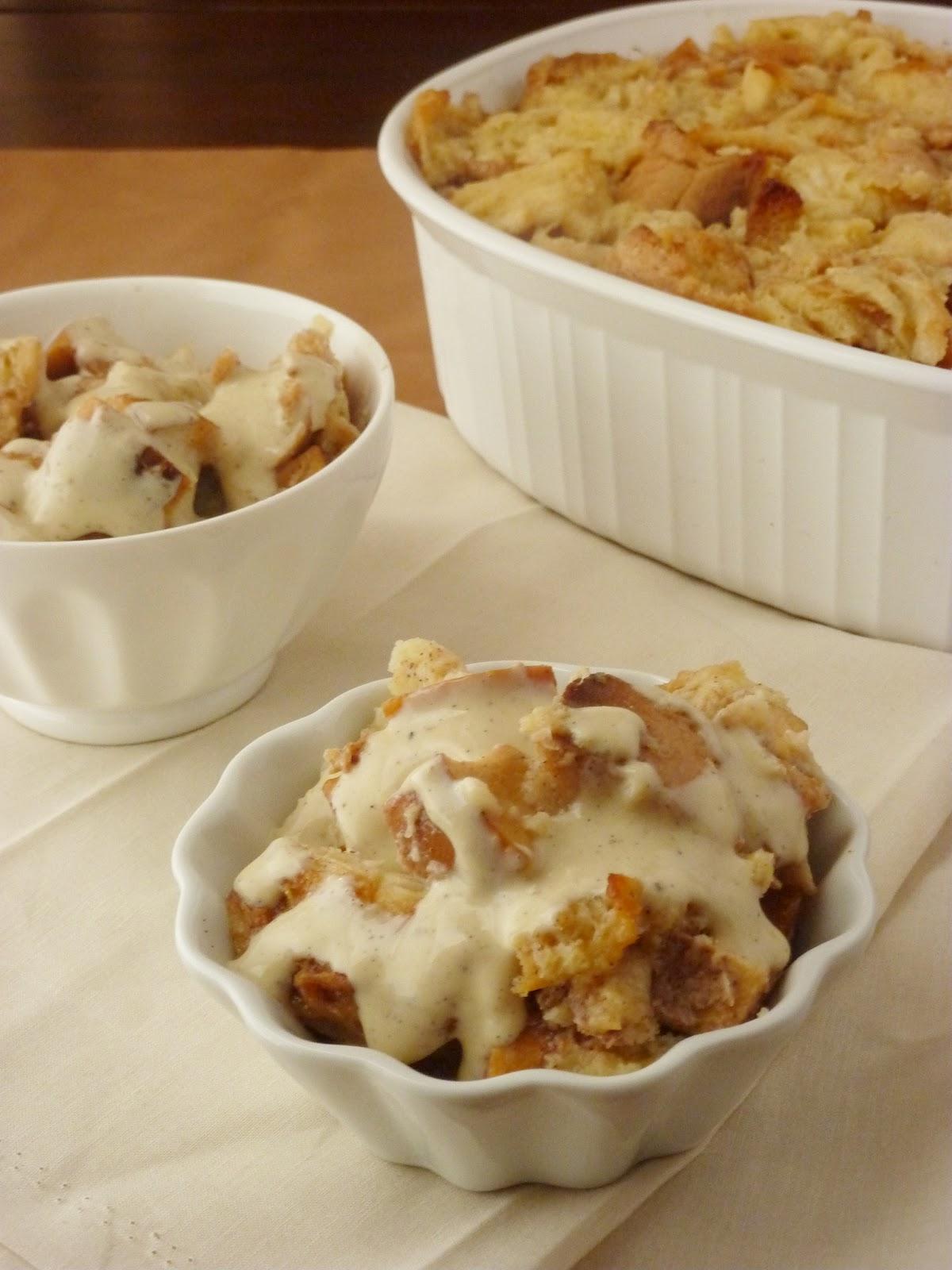 Guest Post} Apple Pie Bread Pudding - Katie's Cucina