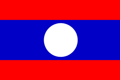 Laos Flag Pictures