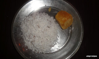 Coconut jaggery mix igredients