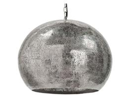 Regina Andrew pierced metal sphere pendant (Zinc Door, $473)