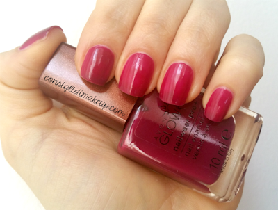 NOTD: Smalto Nailwear Pro+ Plush Berry - Avon Glow