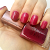 NOTD: Smalto Nailwear Pro+ Plush Berry - Avon Glow