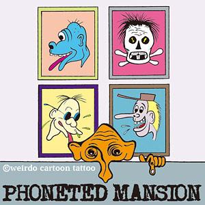 アンドロイド向けスマートフォン端末きせかえ 第2弾 『PHONETED MANSION』