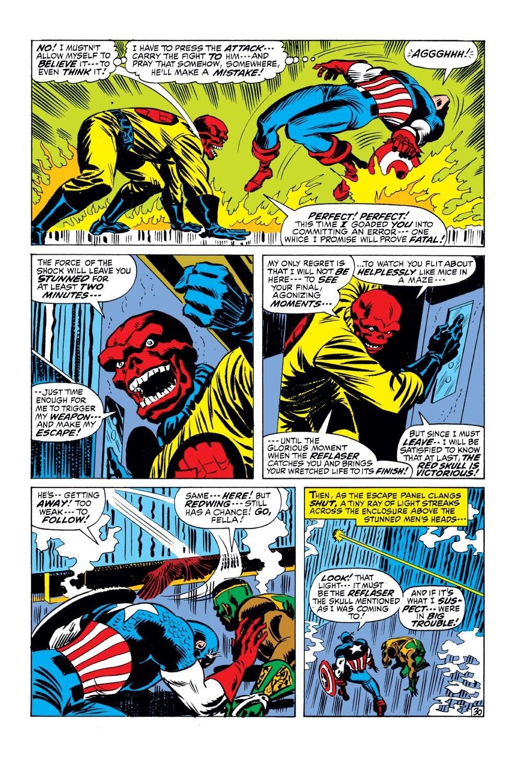 Captain America (1968) Issue #143 #57 - English 31