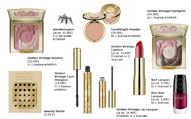 Preview Golden Vintage Dita Von Teese - limited Edition (LE) - November 2012