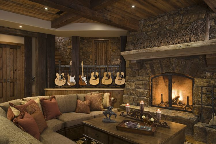 Creating a rustic living room decor for Rustic living room design ideas