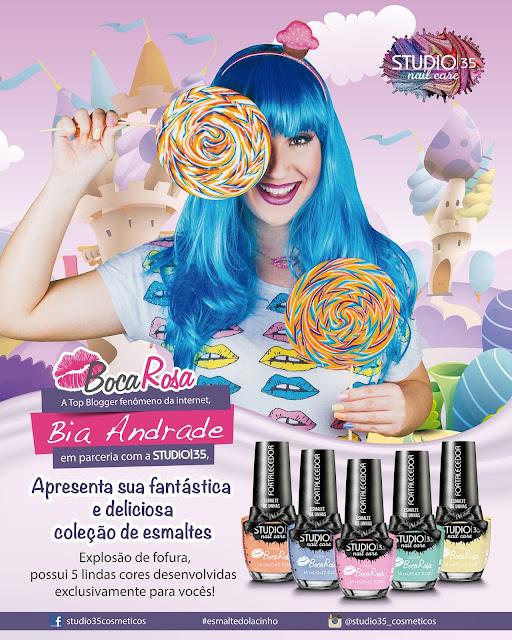 Esmaltes Studio 35 :: Coleção Explosão de Fofura - Boca Rosa
