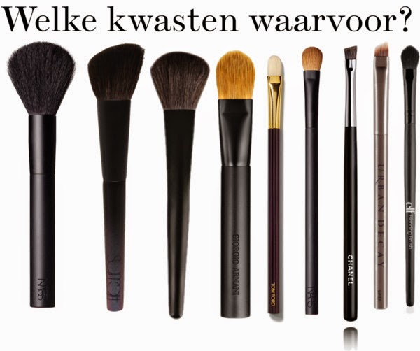 Make up kwasten functie