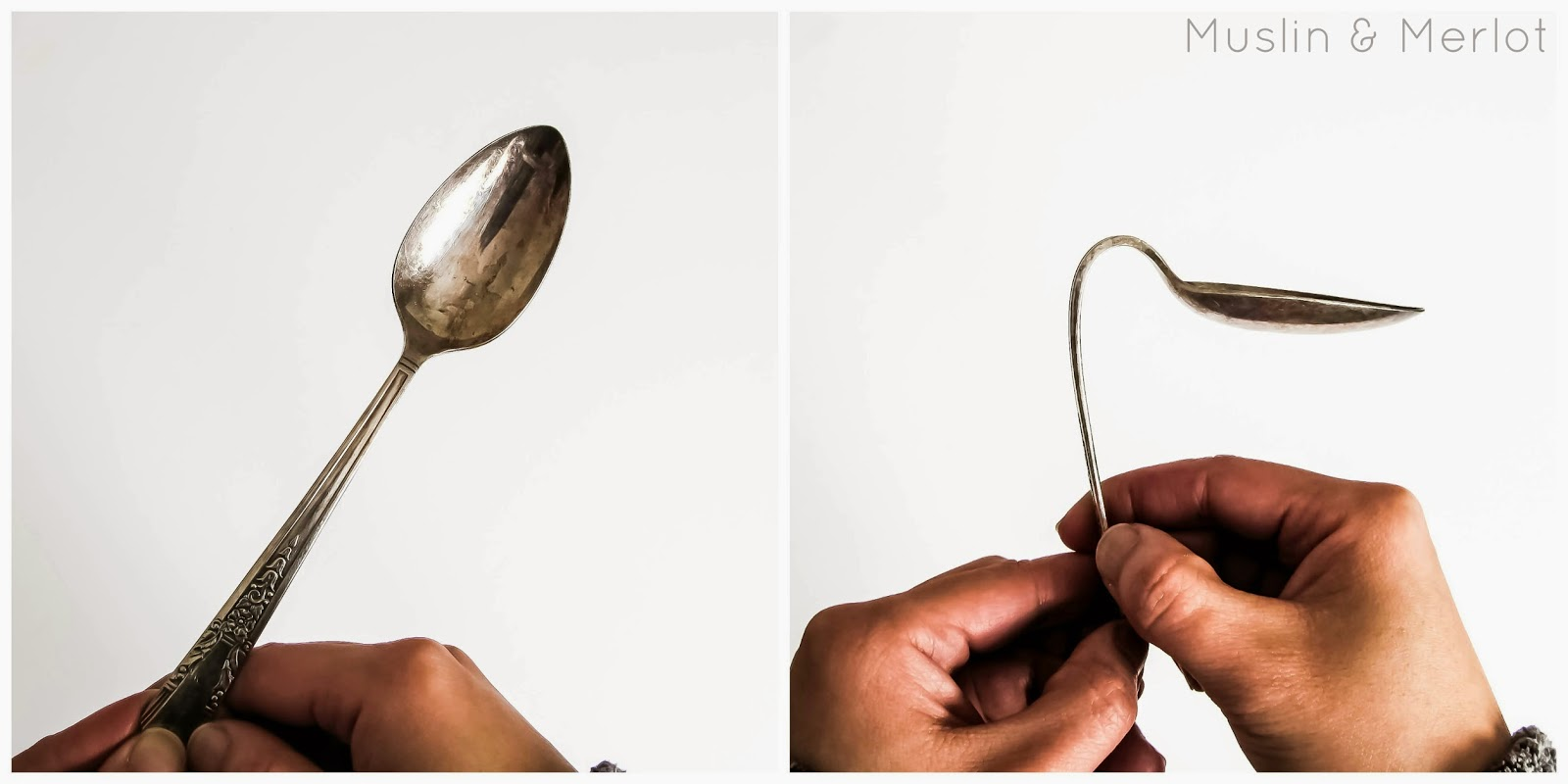 Upcycled Spoon Recipe Holders by Muslin & Merlot