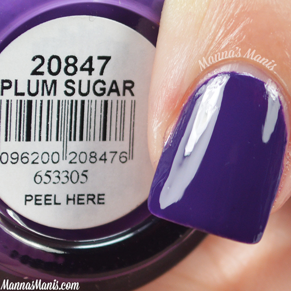 Orly Sugar High Plum Sugar swatches