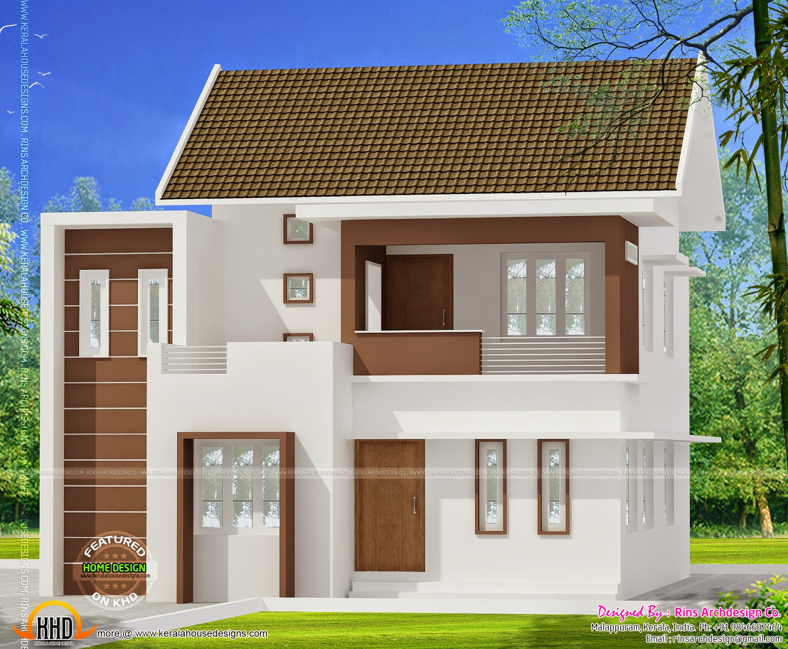 1750 Square Feet House Kerala Home Design And Floor Plans