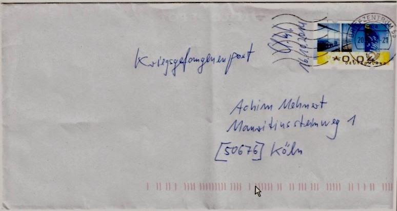 Briefe Verschicken Mit Hermes : Achims kriegsgefangenenpost im briefkasten