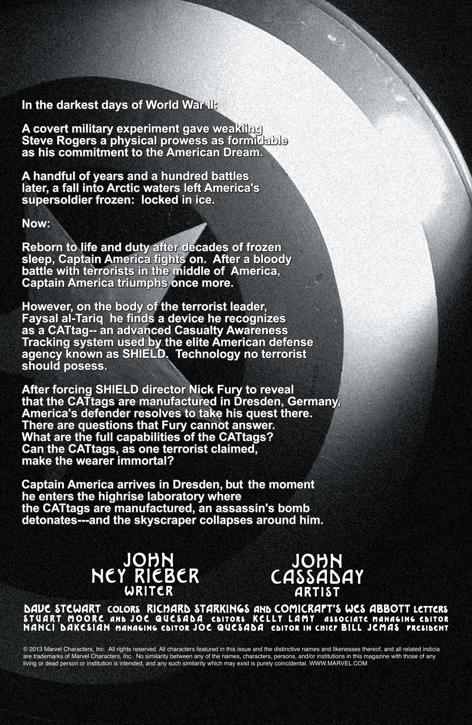 Captain America (2002) Issue #6 #7 - English 2