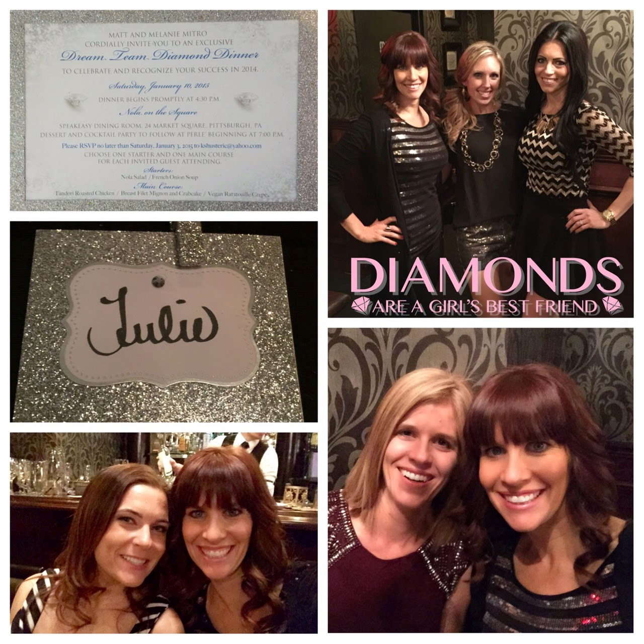Diamond Dinner Celebration, Super Saturday, www.HealthyFitFocused.com