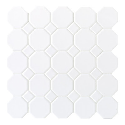 Sausalito White Ceramic Wall Tile