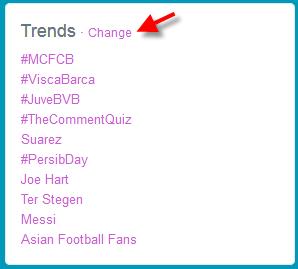 Istilah twitter untuk trending topik