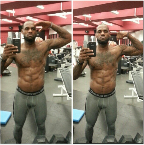 Beautiful men: Lebron ...