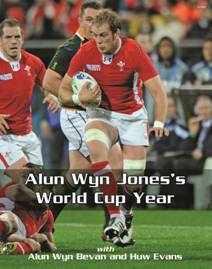 alun wyn jones world cup year - front cover detail