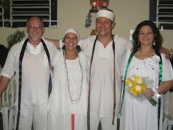 Zelador Miro e Madrinha Ritinha