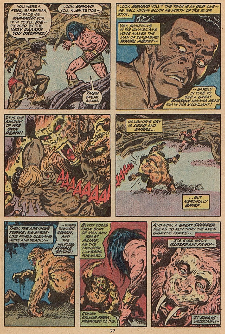 Conan the Barbarian (1970) Issue #28 #40 - English 19
