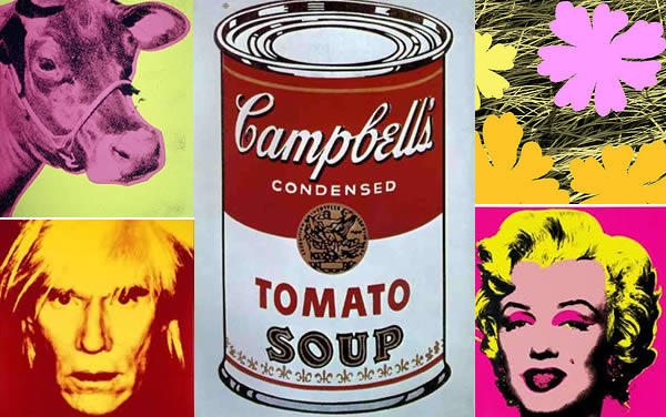 Fidgety fingers art science museum andy warhol 15 for Andy warhol famous works