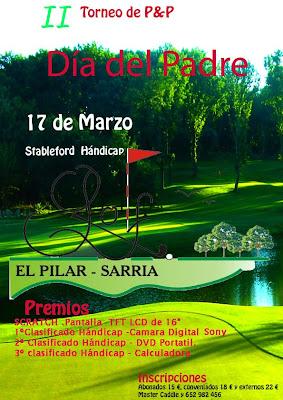 Torneo Dia Padre  Pilar Sarria P&P
