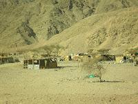 деревня бедуинов Египет Таба