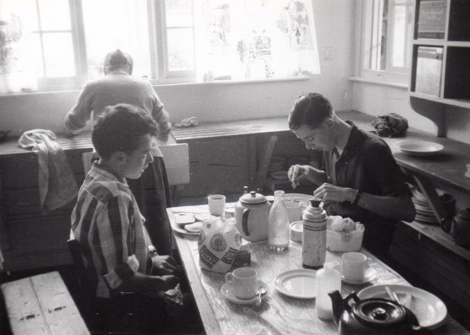 Breakfast in the Members Kitchen