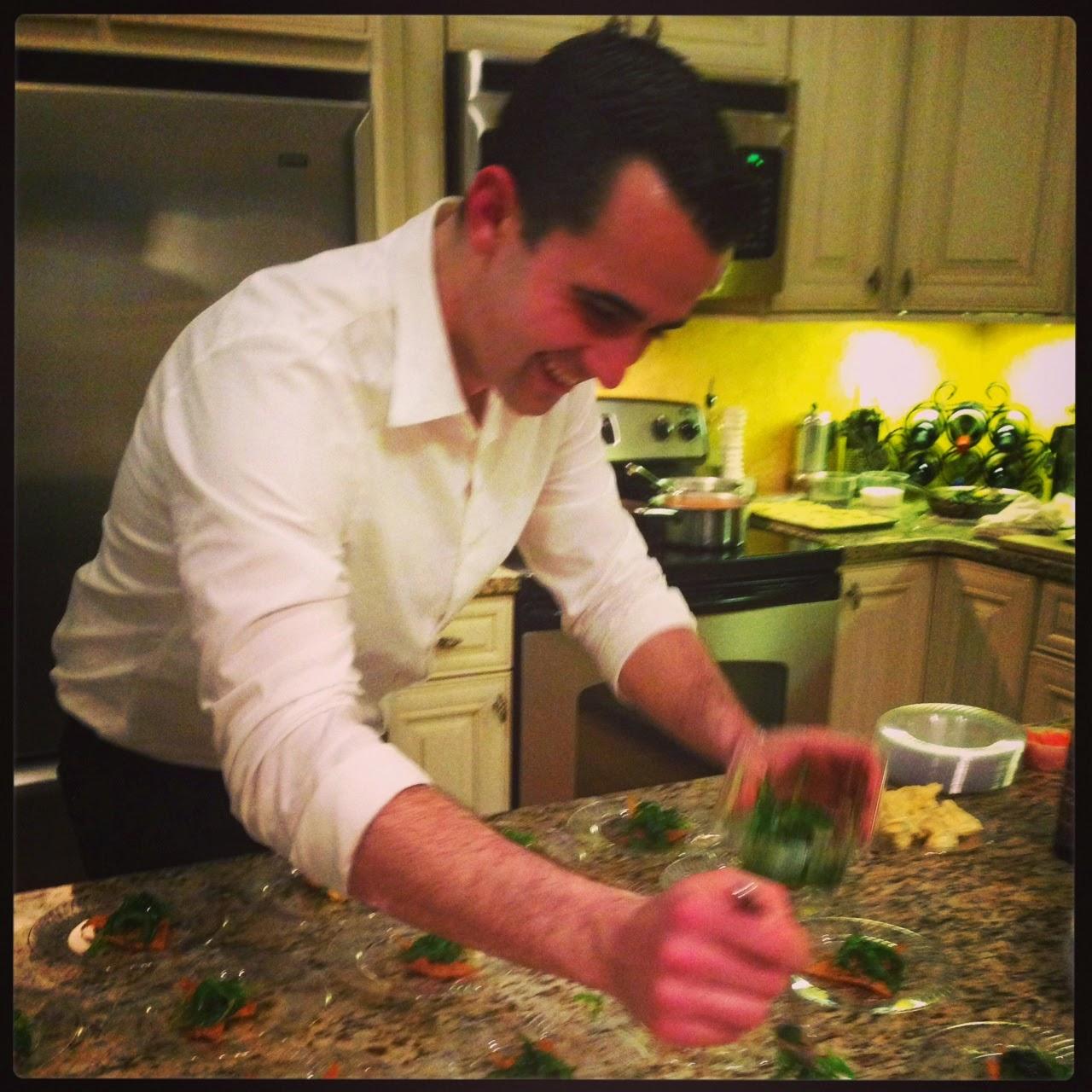 Not actually Stephen Coe, his Sous Chef