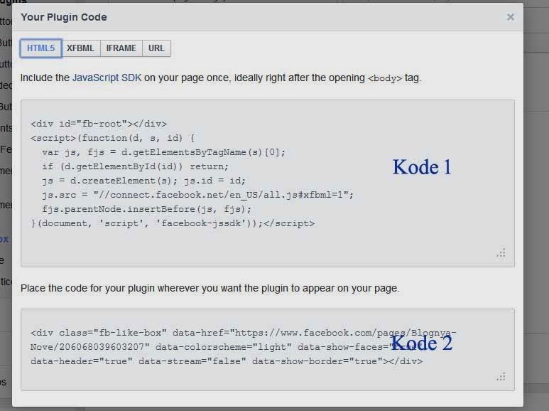 Cara Membuat FanPage Facebook Dan Memasangnya Di Blogspot 6