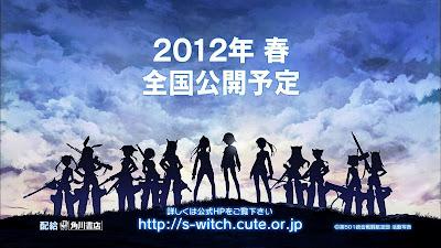 Strike Witches Movie pelicula fecha estreno Marzo 17 2012