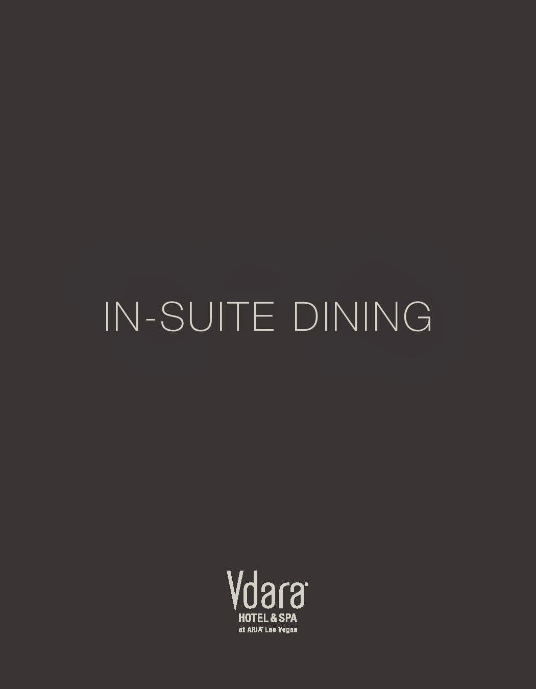 In Room Dining   Vdara Las Vegas Menu Part 33