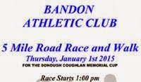 5 mile race in Bandon on New Years Day