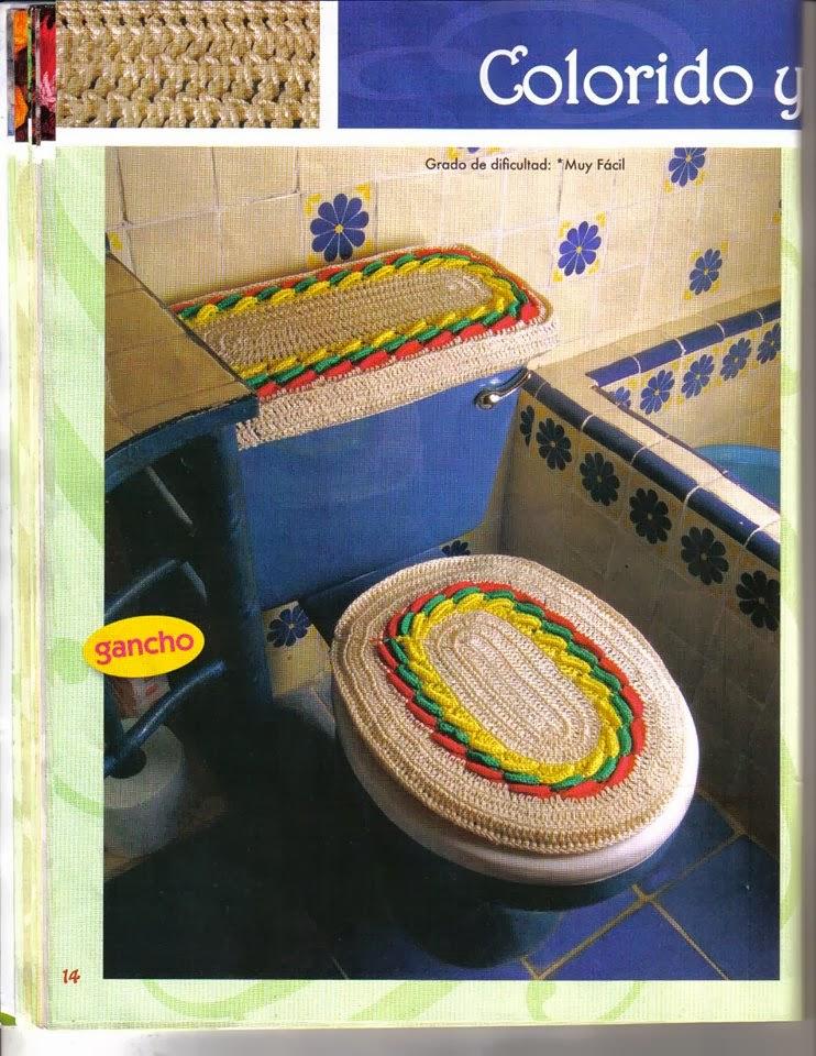 Revista Lenceria De Baño:Revista de crochet para el baño gratis – Revistas de manualidades