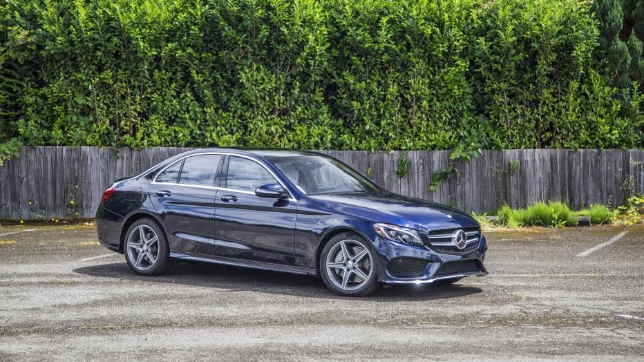 News Cars - 2015 Mercedes-Benz C300 and C400 first drive