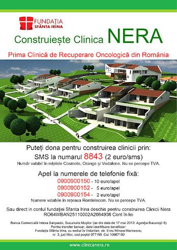 Putem contribui la constructia Clinicii Nera