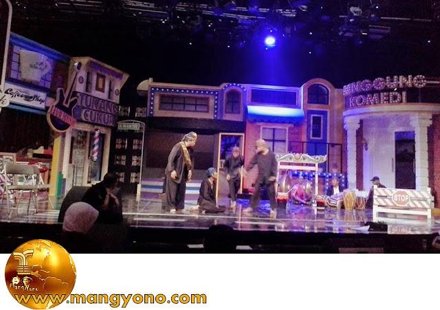 Seni Reog Subang tampil di Panggung Komedi Trans 7.