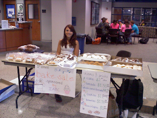Pamela Lopez at the Bake Sale