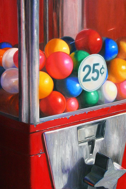 15-Have-a-Ball-Daryl-Gortner-Reflections-in-Art-Photo-Realistic-Paintings-www-designstack-co