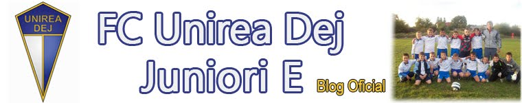 "Fotbal Club ""Unirea"" Dej - Juniori E"
