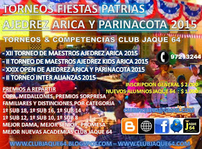 TORNEOS FIESTAS PATRIAS 2015