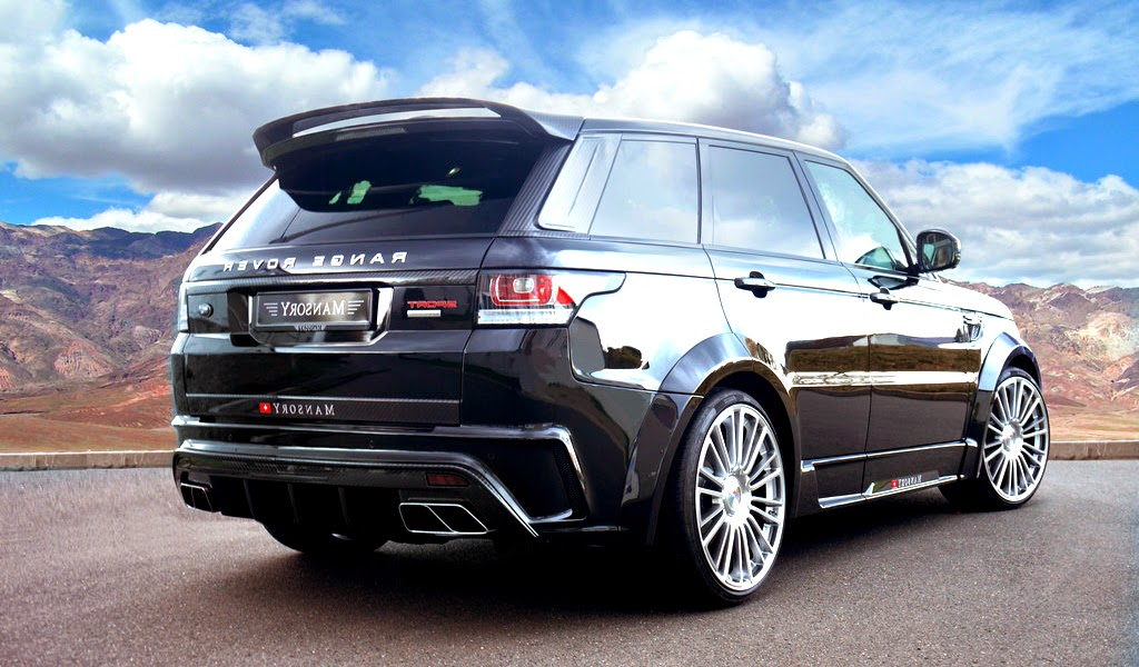 2014 Mansory Range Rover Sport Rear Wallpaper