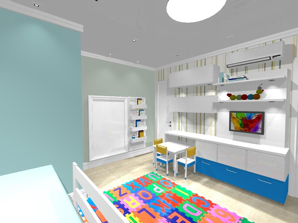 decoracao de interiores de quarto infantil: de interiores – Studio Redecorando: Quarto infantil divertido – Quarto
