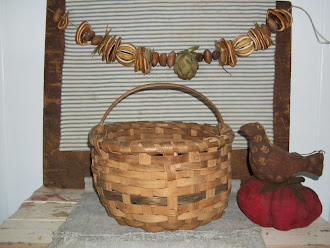 Early Gathering Basket, a great find, in Lancastor County.