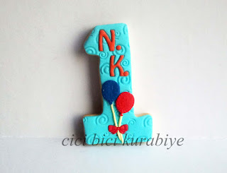 1 yaş kurabiyesi