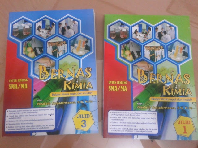 My dedication: BERNAS KIMIA JILID 1 dan 3