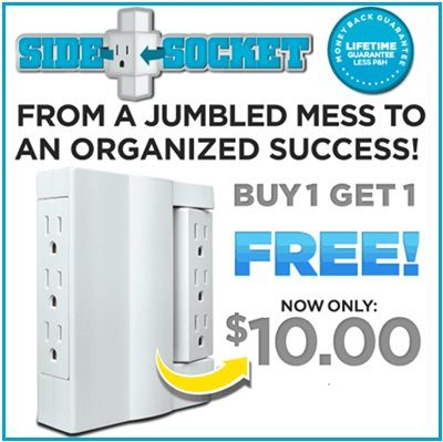 SideSocket.com: Buy one and get one Free Side Socket