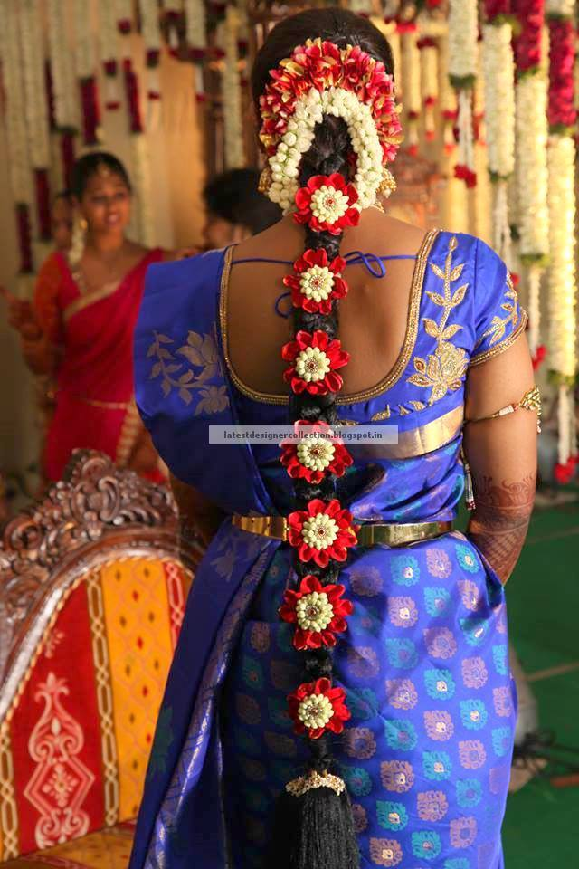 South Indian Wedding Hair Styles For Long Hair ~ Latest Indian ...