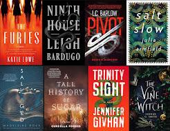 2019 Debut Author Challenge Cover Wars - October Debuts